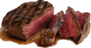biefstuk-gesneden